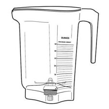 Vitamix 15979 16015 48oz 14l Advance Container With Blade No Lid