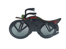 Motorcycle shaped glasses,fun party glasses,novelty glasses,motorbike glasses