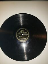 """PERRY COMO-THEY SAY IT'S WONDERFUL/IF YOU WERE THE ONLY GIRL 10"""" 78 RPM 20-1857"""