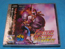 Fighter's History Dynamite NEO GEO SNK CD NEW Factory Sealed