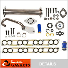Egr Delete Kit+Intake Gaskets -Ford F250 F350 F450 E350 E450 6.0L Diesel Turbo