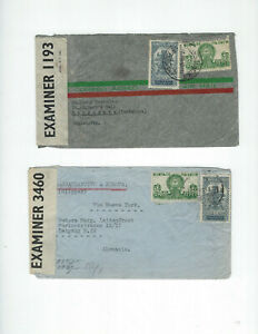 MEXICO-COVERS-OLDER-AIRS-(4)-193#-USED-FINE- EXTERNAL-NICE FRANKING-#129