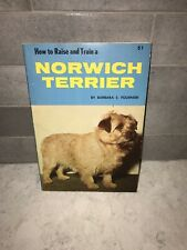How To Raise And Train A Norwich Terrier Dog Book By Barbara Fournier Tfh Pub.