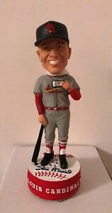 Stan Musial Bobblehead Away Gray Jersey with sound chip Harmonica Collectors