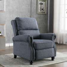 Living Room Single Push Chair Decoration Arm Recliner Chair with Padded Seat