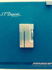 """ST DUPONT LIMITED EDITION JAMES BOND 007 LIGHTER """"LINE 2"""" NEW!"""