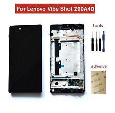 For Lenovo Vibe Shot Z90 Z90-7 Z90A40 LCD Screen Touch Digitizer Sensor & Frame