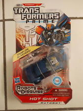 Transformers Prime RiD HOT SHOT - New Deluxe MOSC Robots In Disguise
