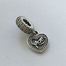 New Genuine Pandora MUM HEART Charm INC POP UP BOX MOTHERS DAY Gift  Mam Mummy