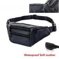 Men Women Water Repellant Waist Bum Bag Pack Zipper Outdoor Sports Travel Belt