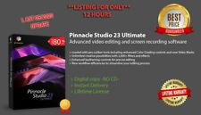 Pinnacle Studio 23 Ultimate 🔑 Key valid License 🔑 Official 2020 New Full