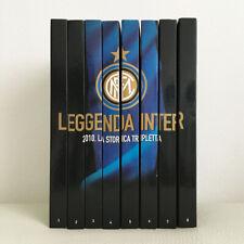 LEGGENDA INTER 2010 LA STORICA TRIPLETTA OPERA COMPLETA 8 DVD