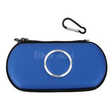 Hard Travel Carry Pouch Case Bag Cover Sleeve for Sony PSP -Light Blue