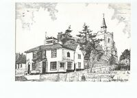 Postcard The Jolly Sailor Maldon Essex drawing print unposted    (A40)