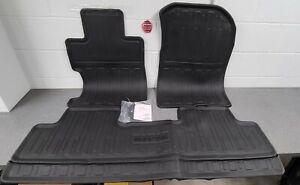 Genuine Oem Honda 06-11 Civic 2dr 4dr Black All Season Floormat 08P13-SNA-110