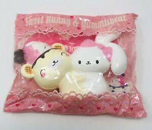 Creamiicandy Bunny's Cafe Yummiibear Hugging Bunny Squishy- Strawberry Scented!