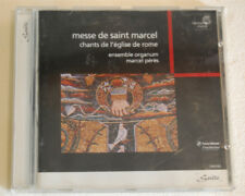 Messe de Saint Marcel Ensemble Organum Marcel Pérès CD