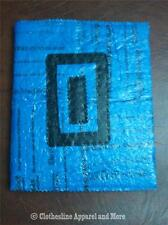 Blue Journal / Sketchbook Handmade Upcycled Fused Plastic New York Times Cover
