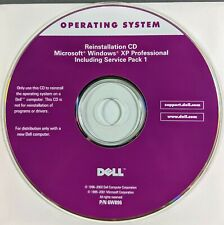 Dell Operating System Microsoft Windows XP Professional SP 1 Reinstallation CD