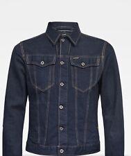 NEW G STAR RAW 3301 Slim Mens Denim Jacket, SIZE XL,Rinsed