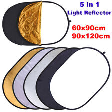 Multi-Disc Oval Photo Diffuser Light Reflector Photography Accessories 5 in 1
