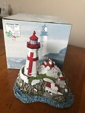 Harbour Lights #708 East Quoddy Lighthouse - Canada Christmas 1999