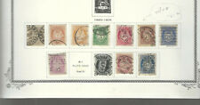 NORWAY Classics...#47//58...Used...1893/1908...11 Diff...SCV $61.90