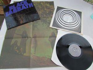 BLACK SABBATH LP MASTER OF REALITY ORIG UK 1971 1st PRESS  BOX + POSTER  NR MINT