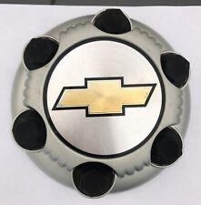 Chevy Silverado 1500 Tahoe Suburban Wheel Center Cap Hubcap OEM 15067578 Silver