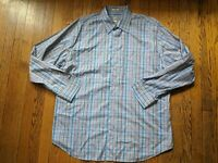 Peter Millar XL Crown Finish Long Sleeve Button Down Shirt Mens