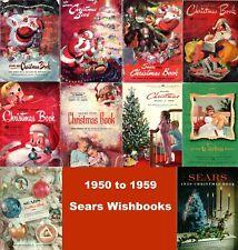Sears Wishbook Catalogs Disc (1950,1951,1952,1953,1954,1955,1956,1957,1958,1959)