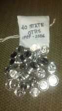 BAG OF 40 U.S. MINT STATE QUARTERS (1999-2006) - Denver Mint