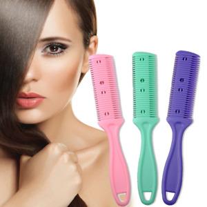 1 stück Doppel Seiten Haar  Kamm mit 2 abnehmbare Klingen Haar Schneiden