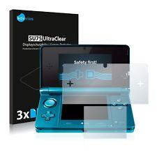 6x Film Protection écran pour Nintendo 3DS Protecteur