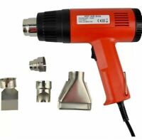 Heat Hot Air Gun Shrink Electric DIY Nozzle Powder Tools Red RS5