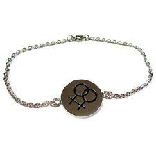 Lesbian Bracelet Stainles Steel 8 Inch