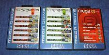 * Mega Games 6 Colección Inc Vol. 1 2 3 * Sega Mega Drive-PAL versiones-Raro