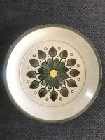 Montego Freezer To Oven Stoneware Japanese Vintage 70's Serving Plate 4113 Green