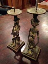 Rare Unusual Antique African Bronze Statue Sculpture Art