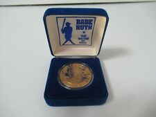 World's First Babe Ruth Commemorative 1 Dollar Republic Liberia in Box 1994