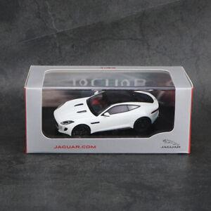 "1/43 IXO JAGUAR F-TYPE COUPE ""R"" POLARIS WHITE 50JDCAFTCR DIECAST CAR MODEL"