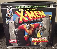 THE UNCANNY X-MEN The Trial Of Colossus Statue #22 of 2500 ART ASYLUM -MINT COND