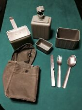 Yugoslavian Mess Kit -Previously Issued Military Surplus with Storage Pouch