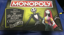 New Sealed USAopoly Monopoly The Nightmare Before Christmas 25 Years