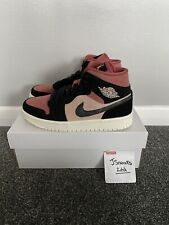 Air Jordan 1 Mid Burgundy Rust UK 6.5