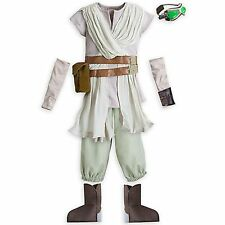 NEW Disney Store Costume Size 9 10 Yr Halloween Star Wars The Force Awakens Rey