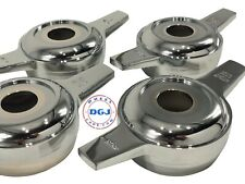 Zenith Cut Chrome Knock-Off Spinners for Lowrider Wire Wheels