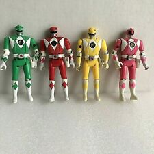 Power Rangers Action Figures Flip Head Bandai 5 1/2 Inches Lot Of 4 Vintage 1993