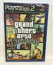 GRAND THEFT AUTO AUTO SAN ANDREAS - PLAYSTATION 2