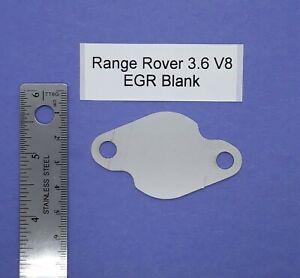 Range rover V8 3.6 Egr Blanks (pair) lion